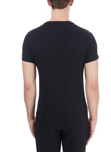 Emporio Armani  T Shirt Erkek T Shırt 111035 Cc729 00020 Siyah